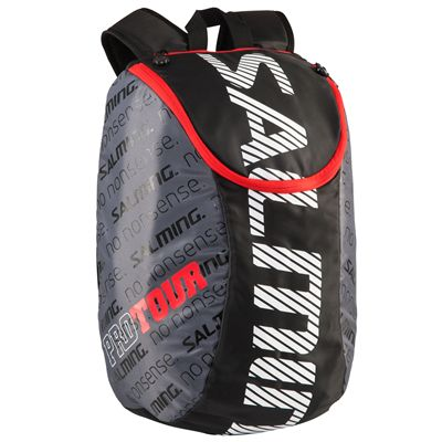 Salming Pro Tour Backpack-Black-Red