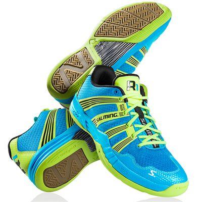 Salming Race R1 2.0 Mens Court Shoes Blue