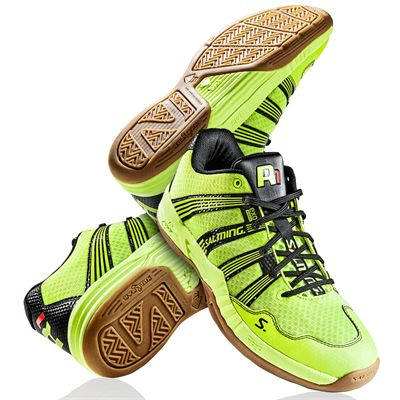 Salming Race R1 2.0 Mens Court Shoes Yellow