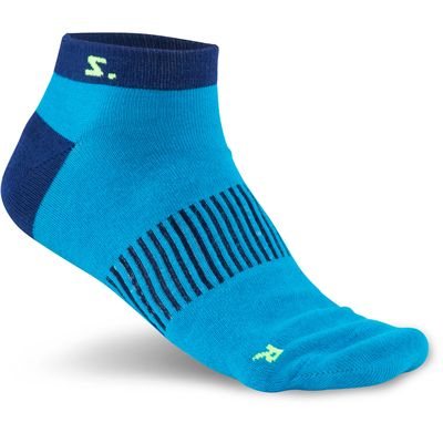 Salming Running Ankle Socks-Assorted-Pack of 3-Navy-Blue