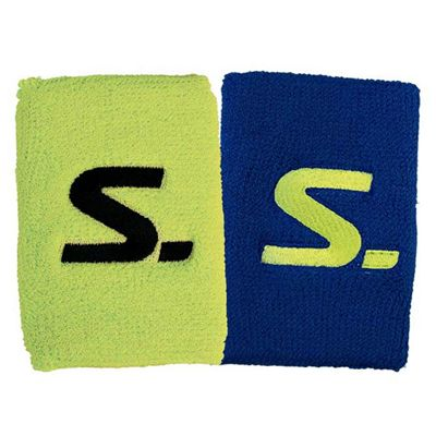 Salming Short Wristbands - Pack of 2 - Yellow/Blue
