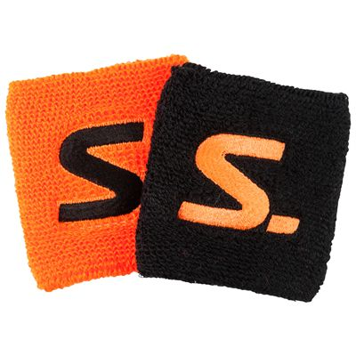 Salming Short Wristbands-Pack of 2-Black-Red