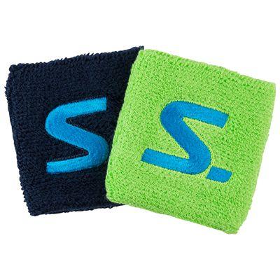 Salming Short Wristbands-Pack of 2-Navy-Green
