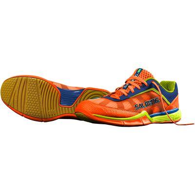 Salming Viper 3 Mens Court Shoes-Orange