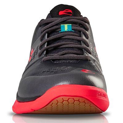 Salming Viper 5 Mens Indoor Court Shoes - Black - Front