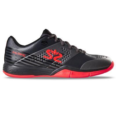 Salming Viper 5 Mens Indoor Court Shoes - Black - Side