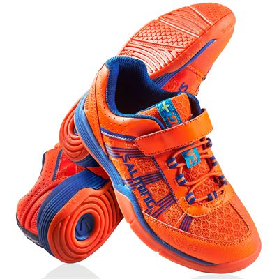 Salming Viper Kids Court Shoes with Velcro