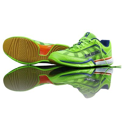 Salming Viper Mens Court Shoes SS15 - Green/Side