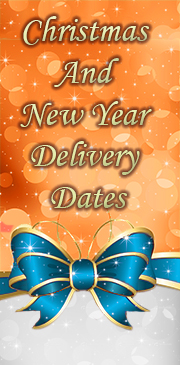 Christmas and New Year delivery dates