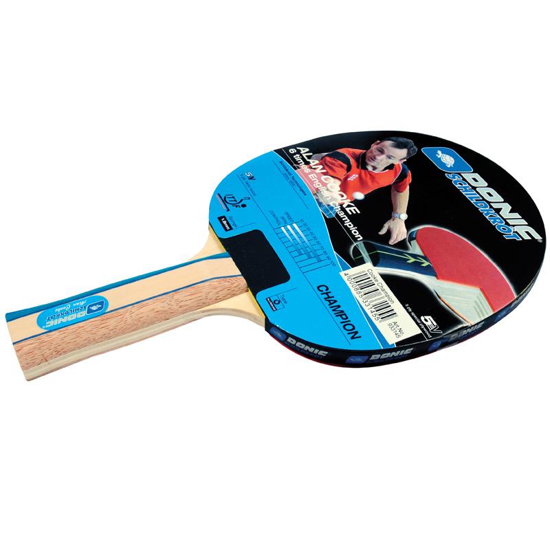 Schildkrot Donic Alan Cooke Champion Table Tennis Bat