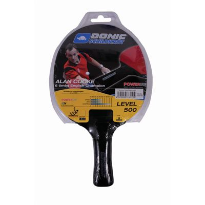 Schildkrot Cooke Powergrip Table Tennis Bat - Packaging