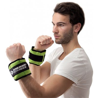 Schildkrot Fitness 0.5kg Wrist And Ankle Weights In Use