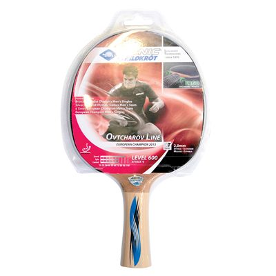 Schildkrot Ovtcharov 600 Table Tennis Bat -  Standing