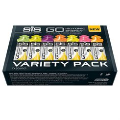 Science in Sport GO Isotonic Energy Gels - Variety Pack of 7