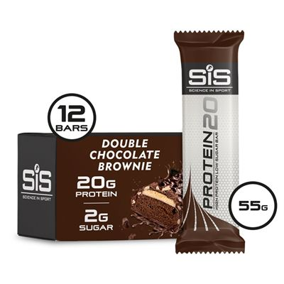 Science in Sport Protein20 Bars - Box of 12 - choco single