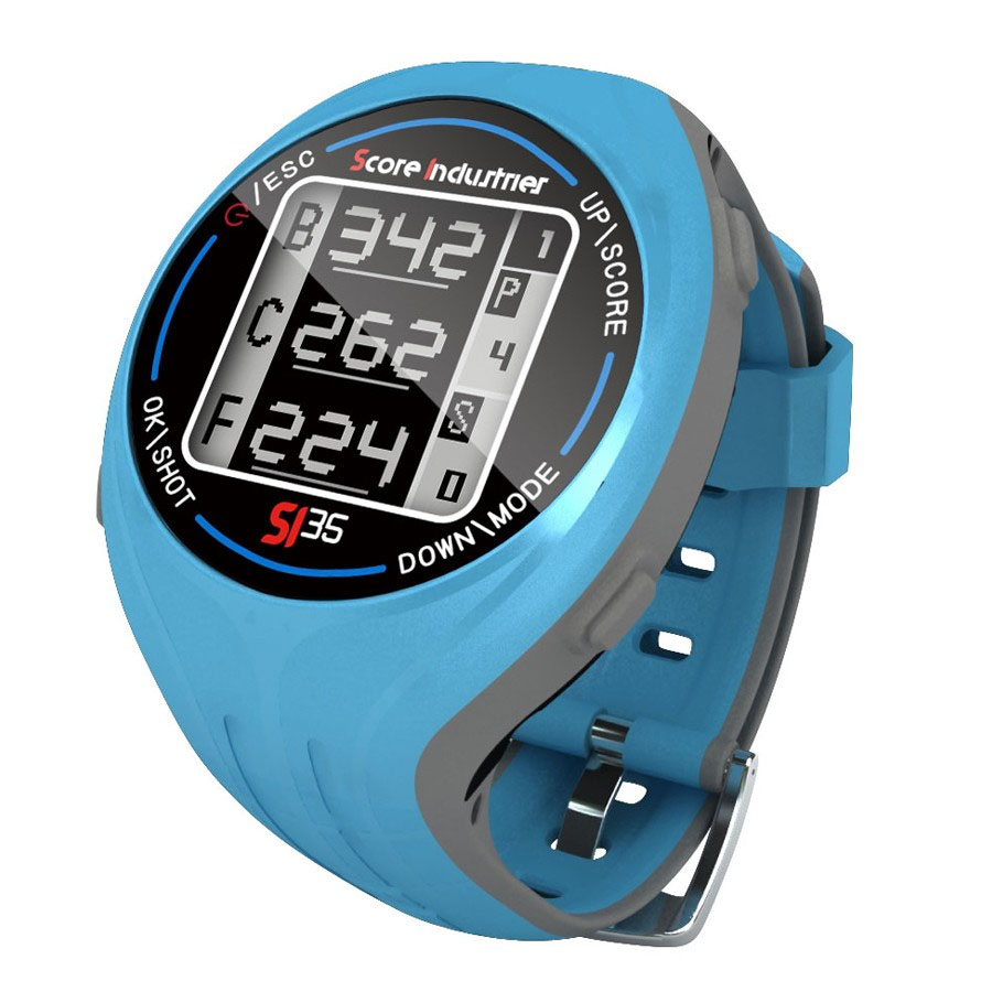 Score Industries SI 35 GPS Golf Watch  Blue