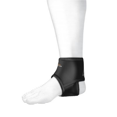 Shock Doctor Ankle Sleeve with Compression Fit - In Use View