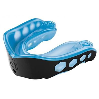 Shock Doctor Gel Max Adult Mouthguard - Black/Blue