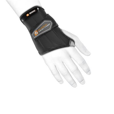 Shock Doctor Wrist Sleeve Wrap Support - In Use