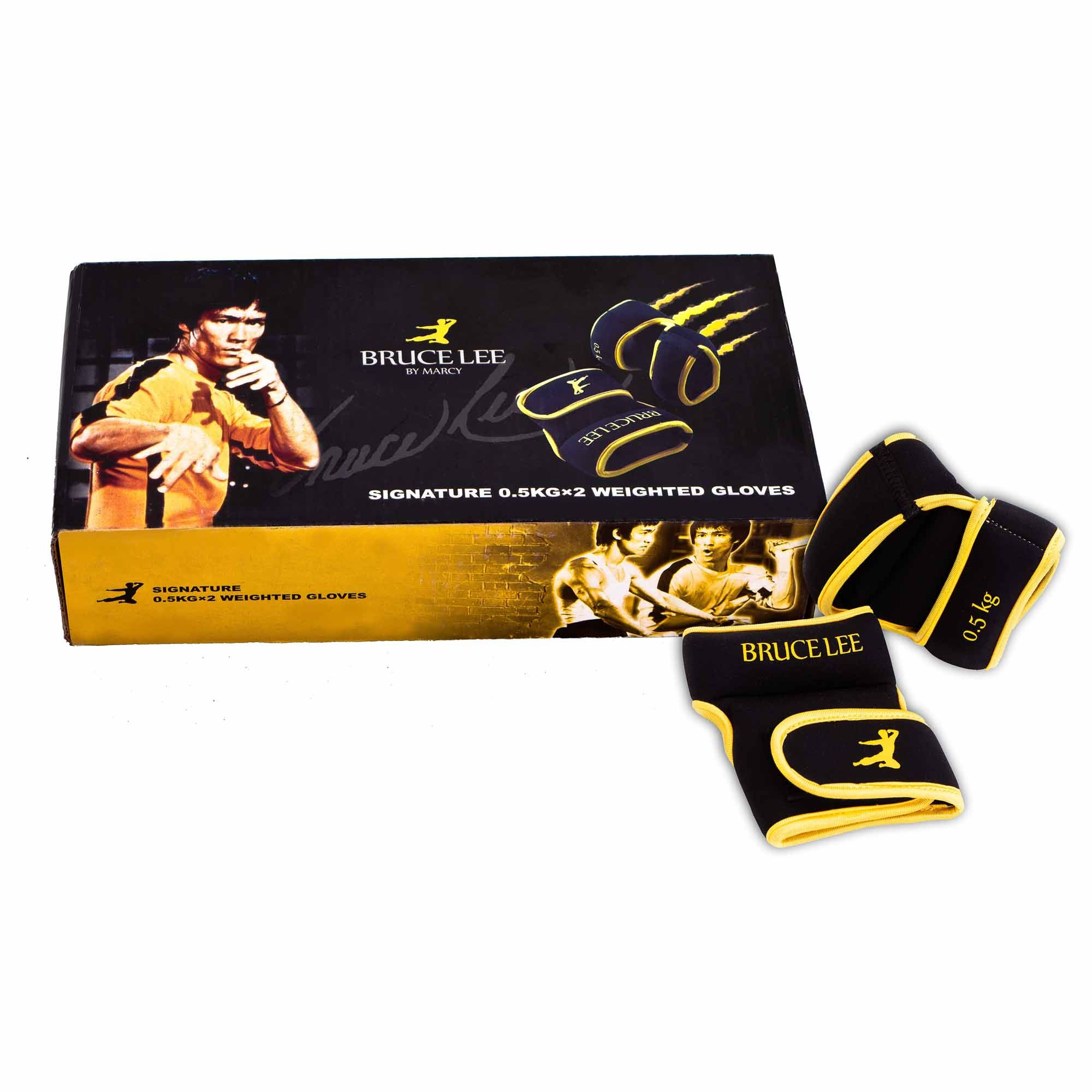 Tesco Fitness Gloves: Bruce Lee Signature 0.5Kg Wrist Weights
