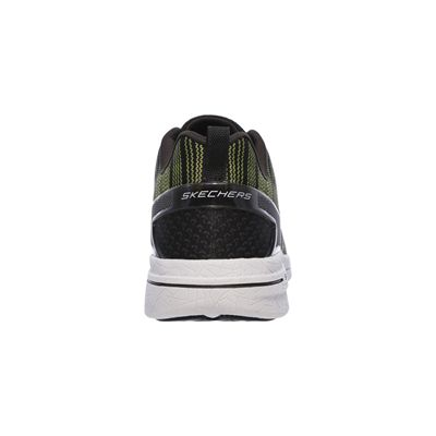 Skechers Burst 2.0 In the Mix II Mens Athletic Shoes-lime-heel