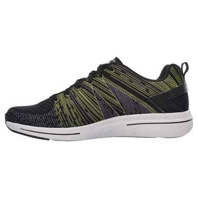 Skechers Burst 2.0 In the Mix II Mens Athletic Shoes-lime-side