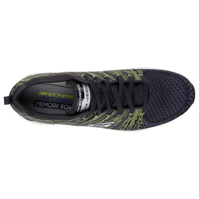 Skechers Burst 2.0 In the Mix II Mens Athletic Shoes-lime-top