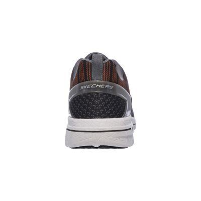 Skechers Burst 2.0 In the Mix II Mens Athletic Shoes-orange-heel