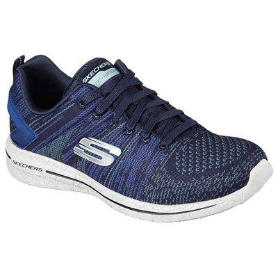 Skechers Burst 2.0 Ladies Walking Shoes - Blue