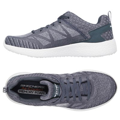 Skechers Burst Deal Closer Mens Athletic Shoes - Grey - Alt.View