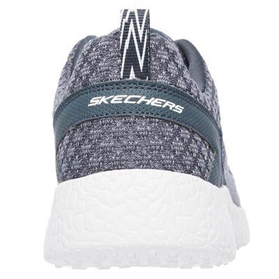 Skechers Burst Deal Closer Mens Athletic Shoes - Grey - Back