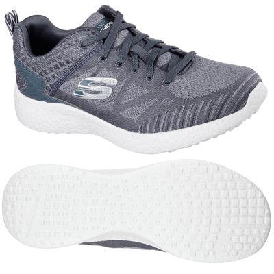 Skechers Burst Deal Closer Mens Athletic Shoes - Grey