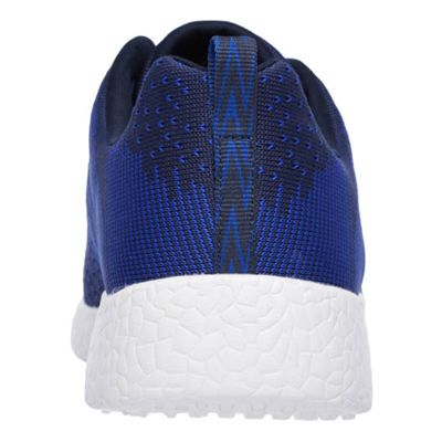 Skechers Burst In the Mix Mens Athletic Shoes - Navy - Back