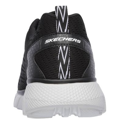 Skechers Equalizer 2.0 Settle the score Mens Walking Shoes-Black-Grey-Back