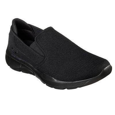 Skechers Equalizer 3.0 Sumnin Mens Walking Shoes - Black - Angled