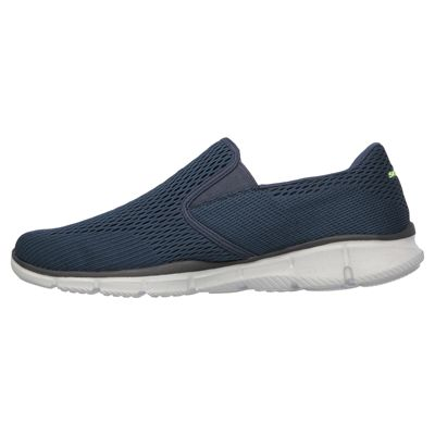Skechers Equalizer Double Play Mens Running Shoes-Navy-Side
