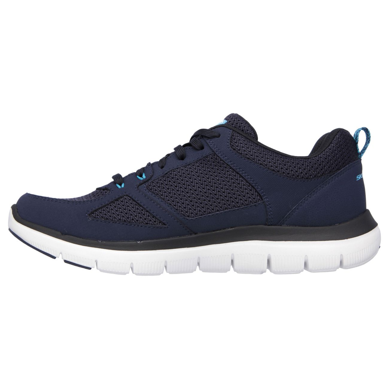 Navy Blue Athletic Walking Shoes