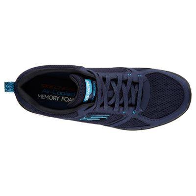 Skechers Flex Advantage 2.0 Mens Running Shoes-Navy-Blue-Top