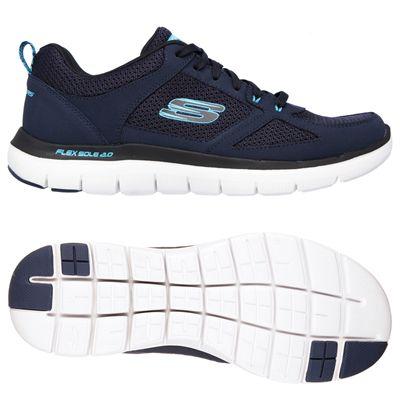 Skechers Flex Advantage 2.0 Mens Running Shoes-Navy-Blue