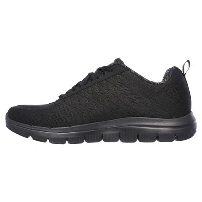 Skechers Flex Advantage 2.0 The Happs Mens Shoes-black-side