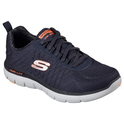 Skechers Flex Advantage 2.0 The Happs Mens Shoes-navy-angle