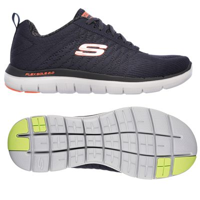 Skechers Flex Advantage 2.0 The Happs Mens Shoes-navy-main