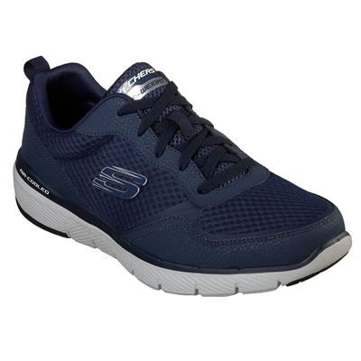 Skechers Flex Advantage 3.0 Mens Training Shoes - Navy - Angled