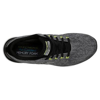 Skechers Flex Advantage 3.0 Stally Mens Training Shoes - Grey - Above