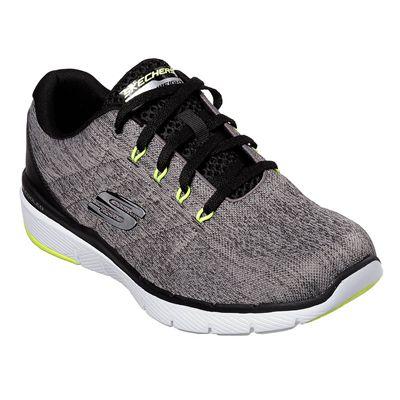 Skechers Flex Advantage 3.0 Stally Mens Training Shoes - Grey - Angle