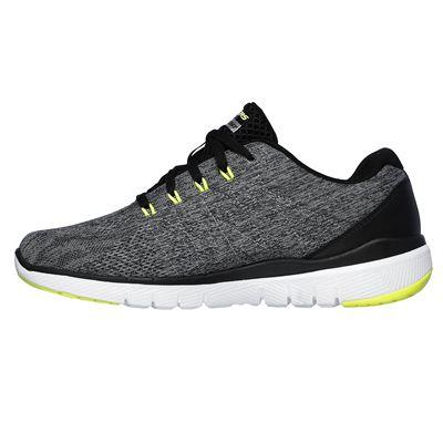 Skechers Flex Advantage 3.0 Stally Mens Training Shoes - Grey - Side