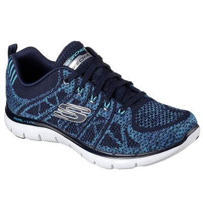 Skechers Flex Appeal 2.0 New Gem Ladies Training Shoes - Angled