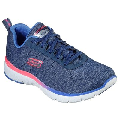 Skechers Flex Appeal 3.0 Fan Craze Ladies Training Shoes - Slant