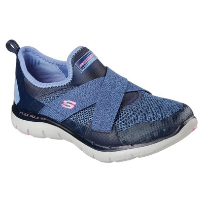 Skechers Flex Appeal New Image Ladies Walking Shoes-angle