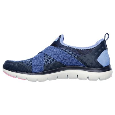 Skechers Flex Appeal New Image Ladies Walking Shoes-side